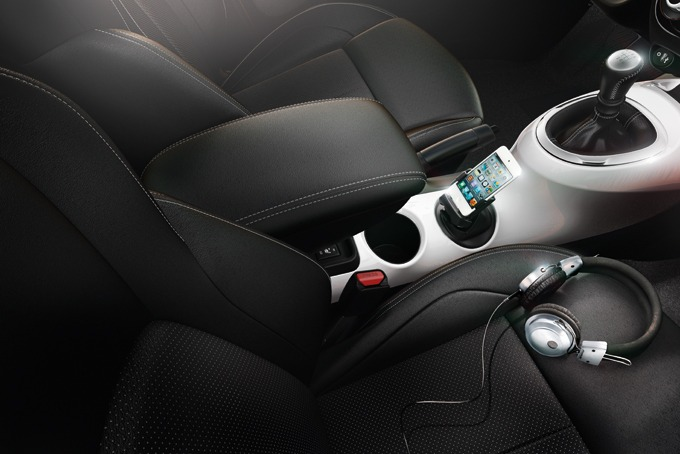 Armrest for Nissan Juke limited series