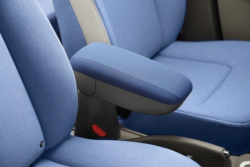 Accoudoir Renault Zoe bleu