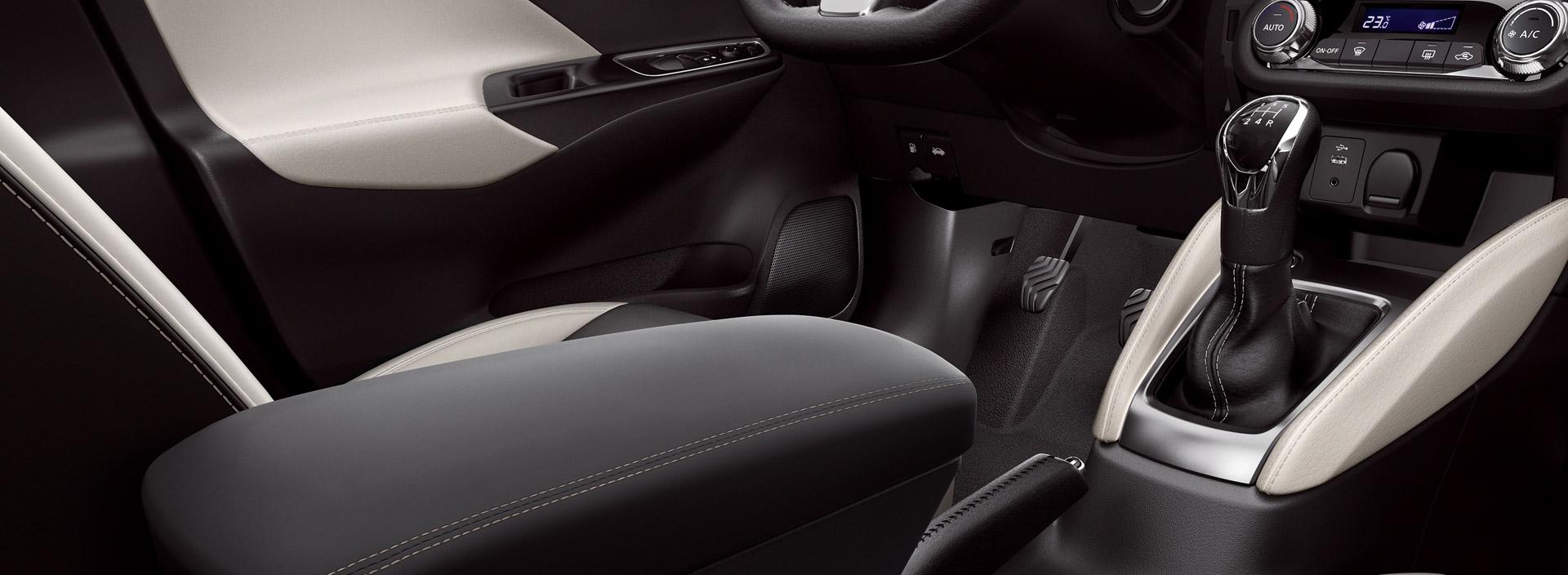 Armrest for Nissan Micra 2